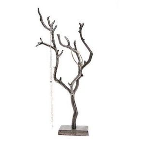 White tree jewelry stand